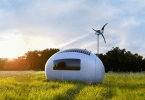 eco-capsule egg-shaped home